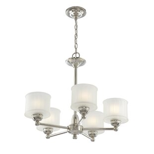 Nashville 5-Light Shaded Chandelier by Andover Mills