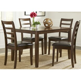 Gosselin 5 Piece Dining Set by Alcott Hill