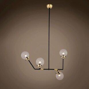 Brayden Studio Chairez 4-Light Chandelier