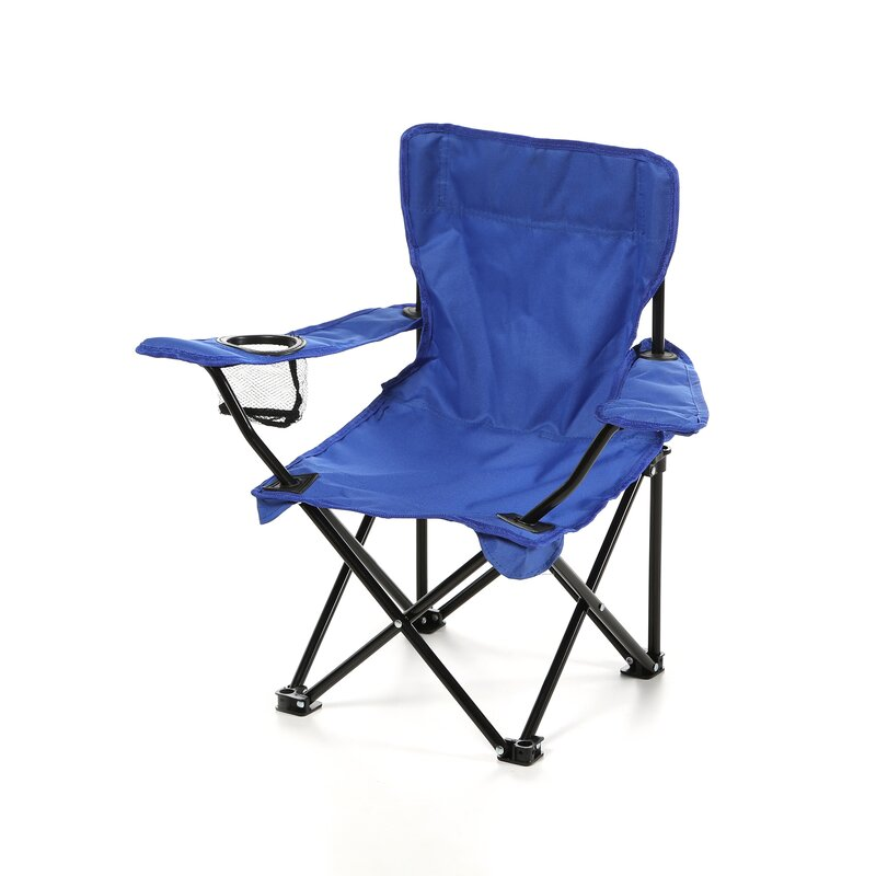 Perfect Randy Folding Kids Camping Chair With Cup Holder