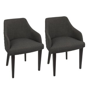 Brinker Upholstered Dining Chair (Set of 2) by Brayden Studio
