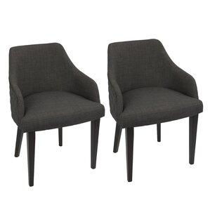 Brinker Upholstered Dining Chair (Set of ..