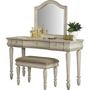 Beau Warlick Vanity Set With Mirror
