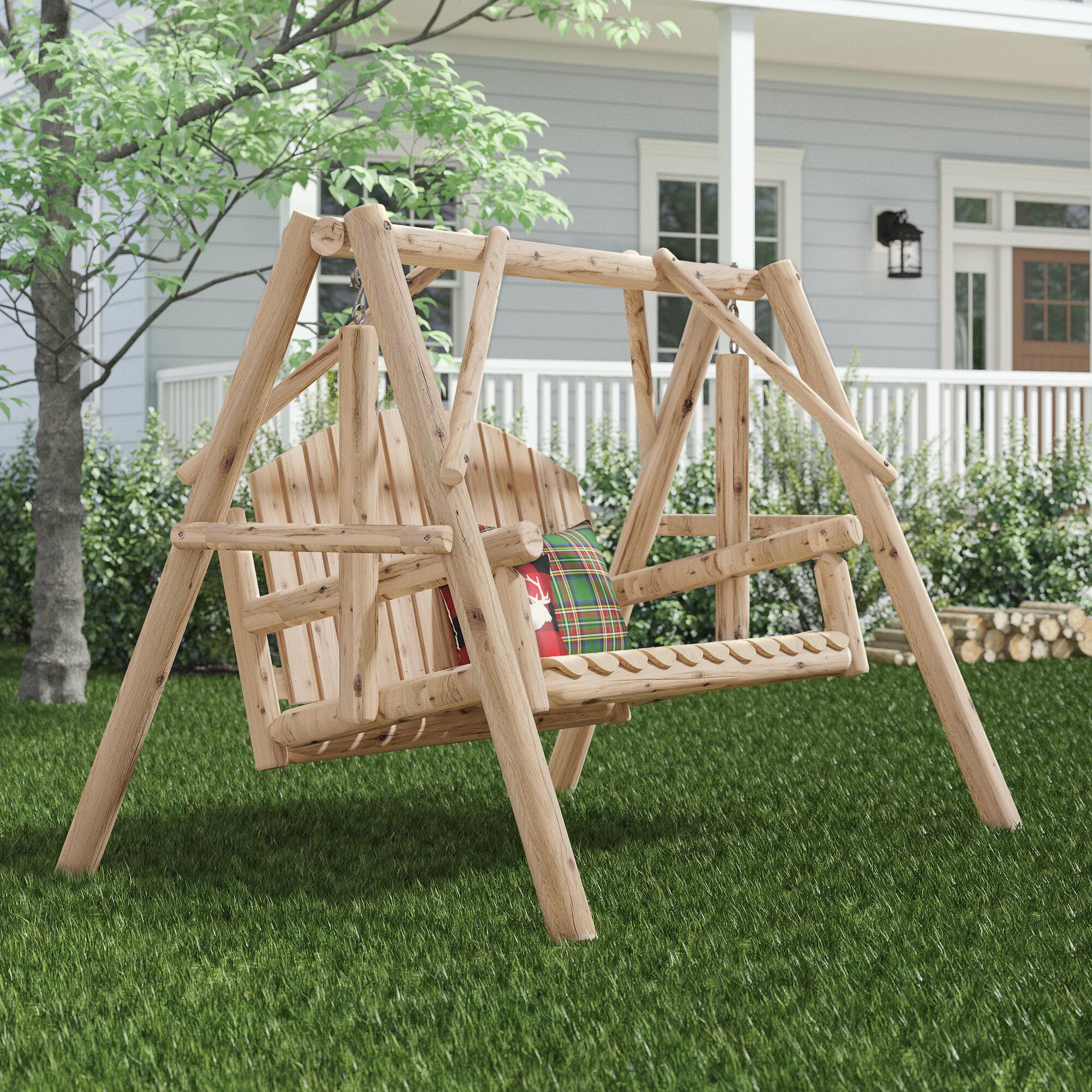 Rustic Porch Swings You Ll Love In 2021 Wayfair