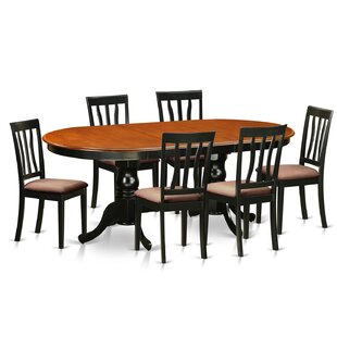 Germantown 7 Piece Extendable Dining Set by DarHome Co #2