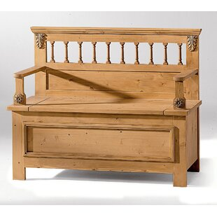 Wooden Storage Bench By Union Rustic