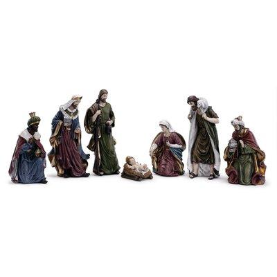 7 Piece Nativity Set The Holiday Aisle