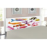 Ocean Upholstered Panel Headboard by East Urban Home