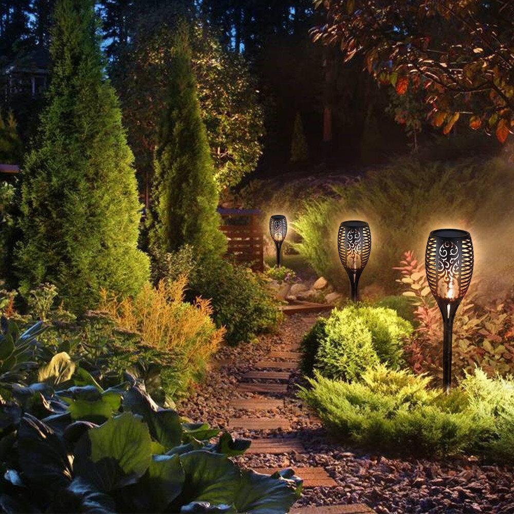 Set of 10 Biard Garden Path Lawn Outdoor Ground Adjustable Spike Spot Light IP44