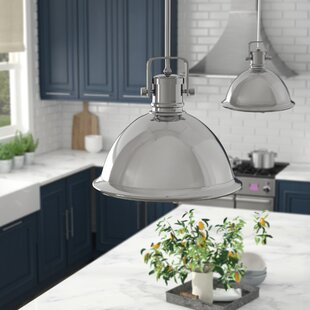 Jacobus 1-Light Bell Pendant by Laurel Foundry Modern Farmhouse