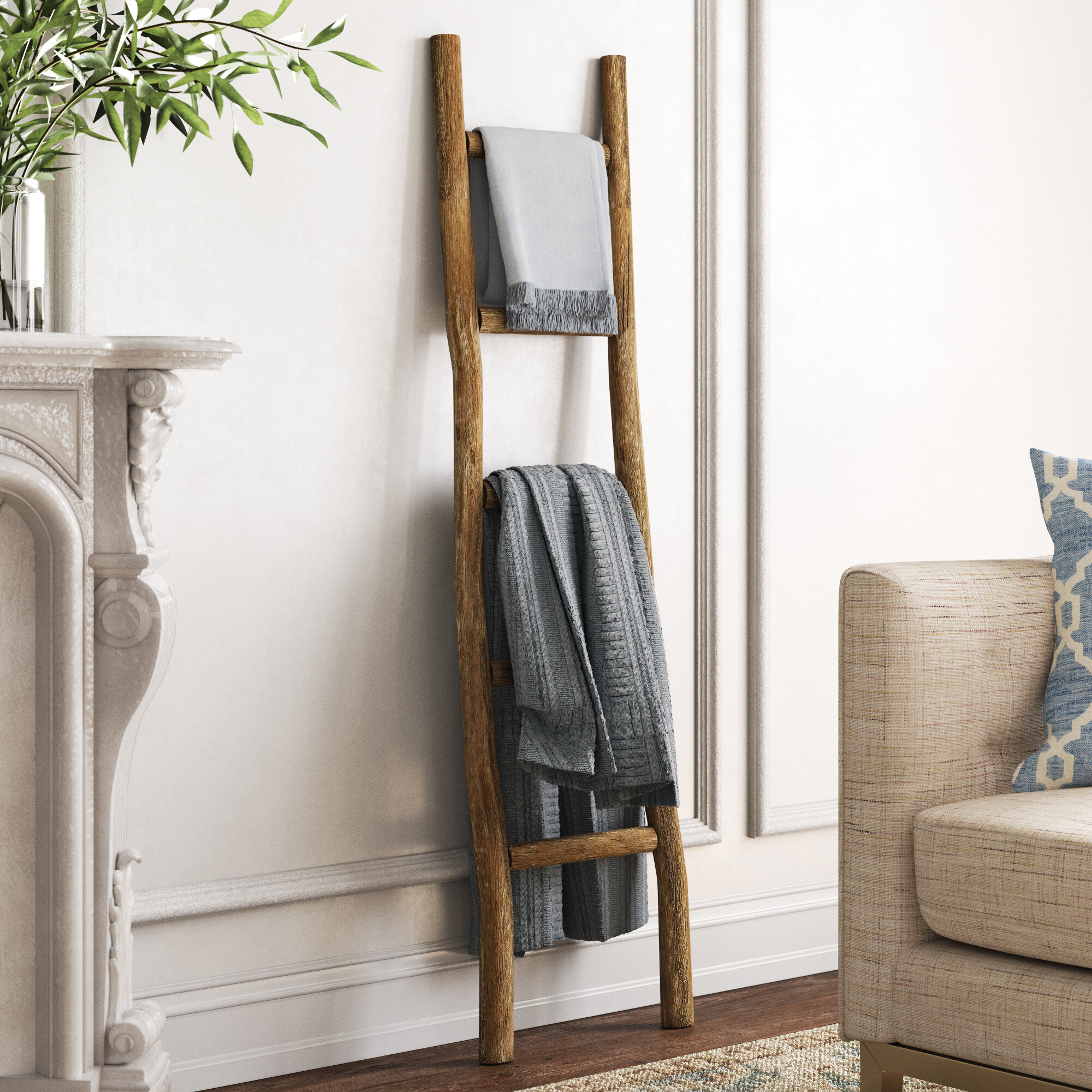 Kelly Clarkson Home 5 Ft Blanket Ladder Reviews Wayfair