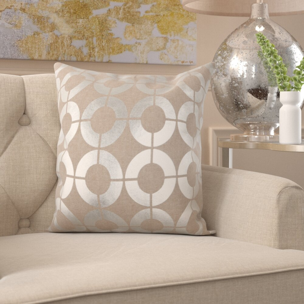 Willa Arlo Interiors Regan Down Linen Throw Pillow Reviews Wayfair