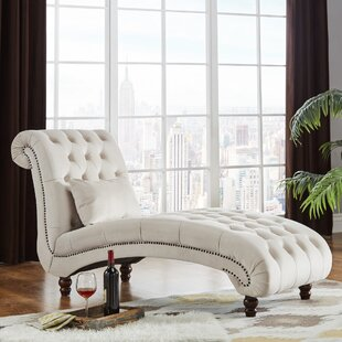Huskins Tufted Chaise Lounge