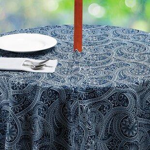 Hoover Paisley Umbrella Tablecloth
