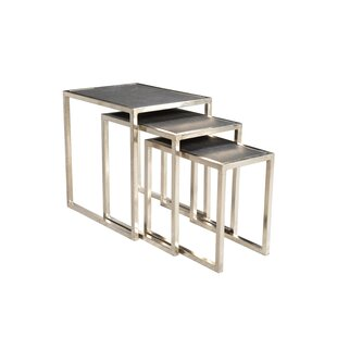 Callaghan Stone Top 3 Piece Nesting Tables