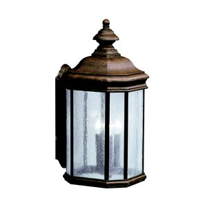 Kichler Kirkwood 3-Light Outdoor Wall Lantern