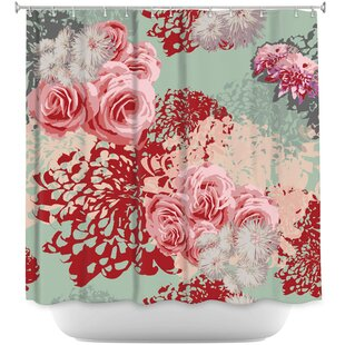 Blush Single Shower Curtain