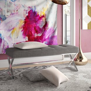 Dixon Metal Bench by Willa Arlo Interiors