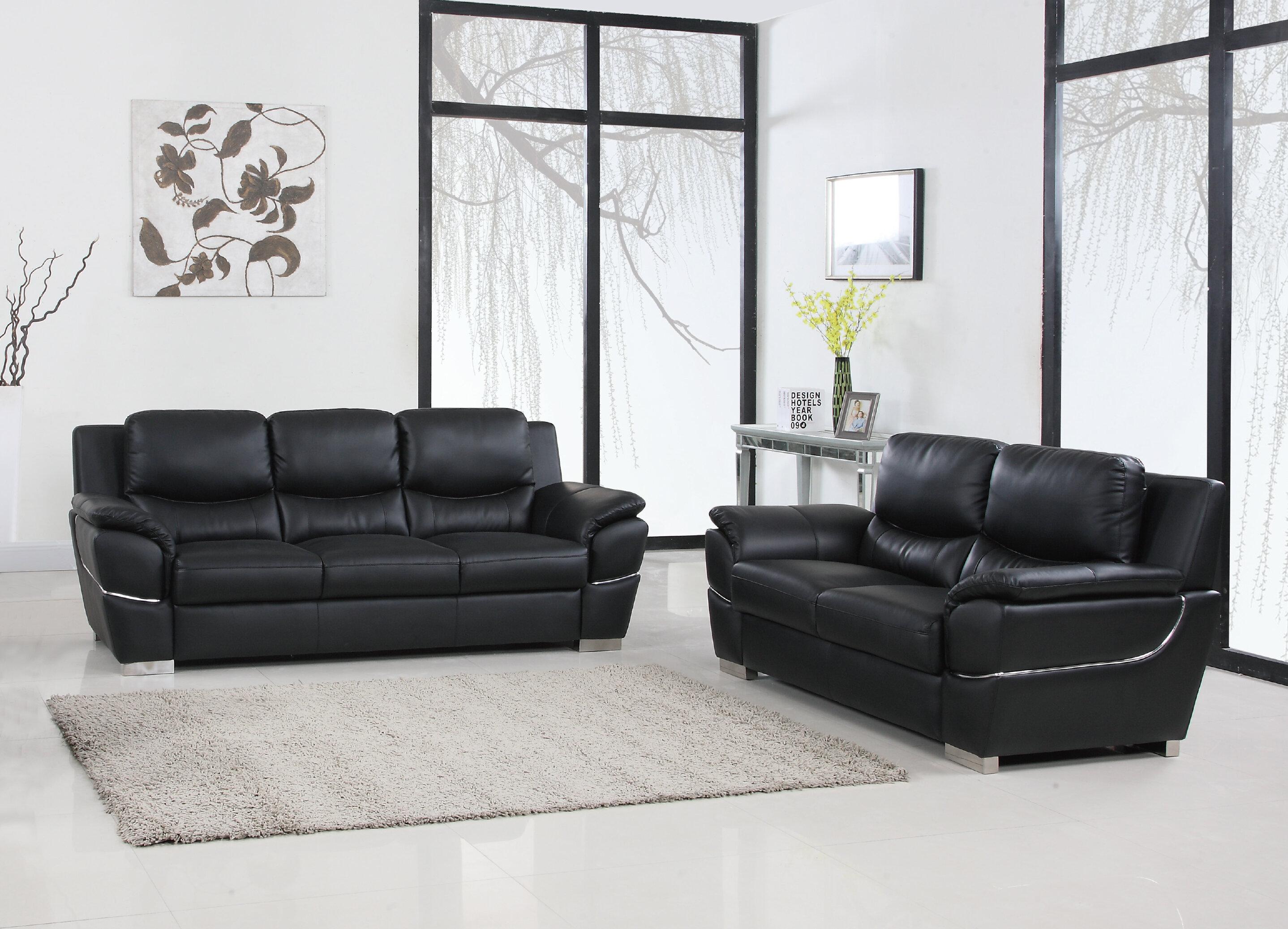 Latitude Run Qualana 2 Piece Living Room Set & Reviews   Wayfair