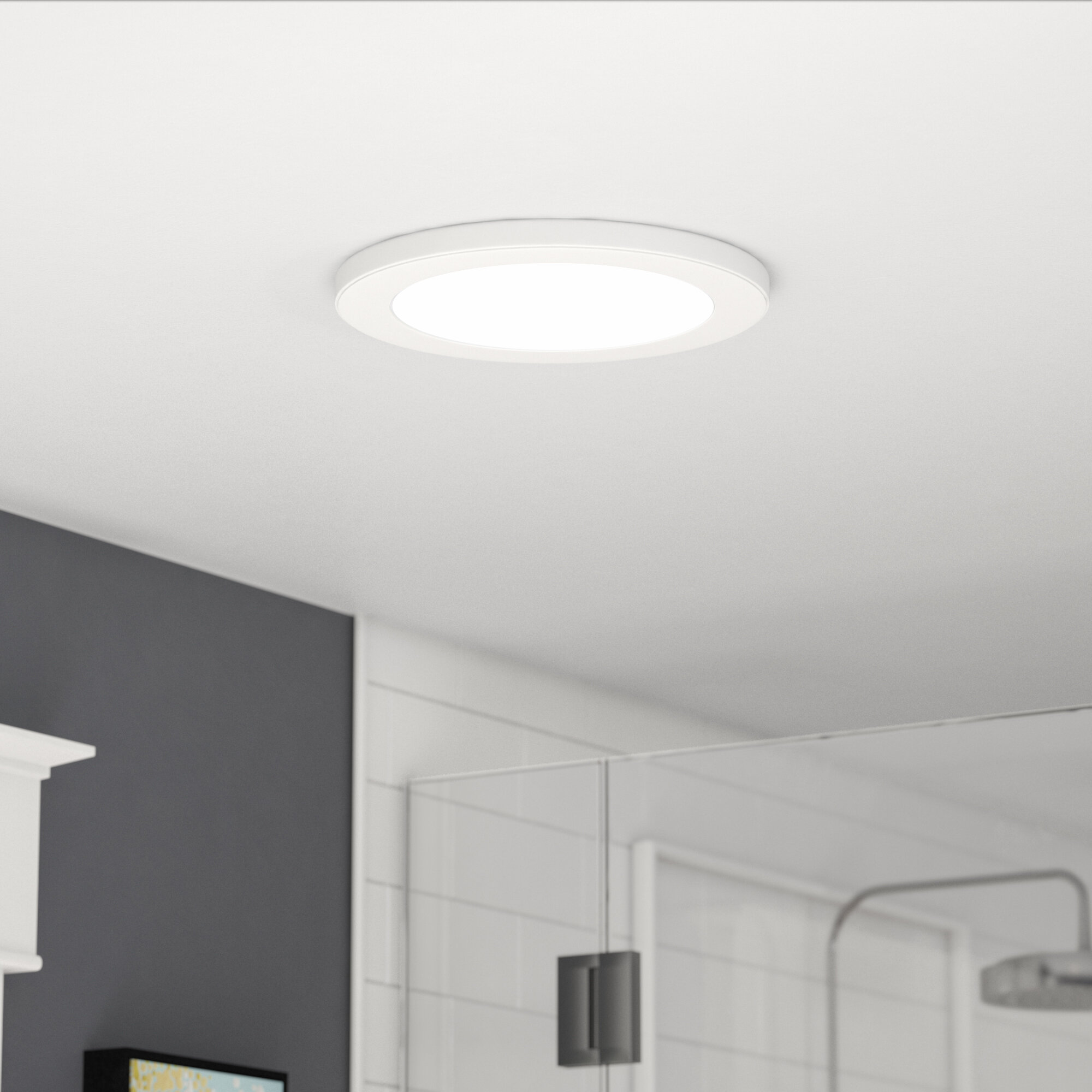 Colasanto 1 Light Led Flush Mount