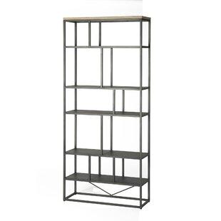 Langsa Geometric Bookcase By Union Rustic