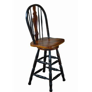 Aloysius 24 Swivel Bar Stool