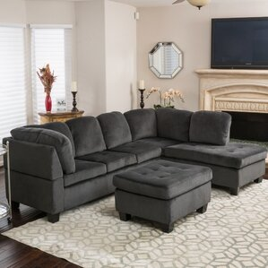 Hardin Sectional : oversized sectional sofa with chaise - Sectionals, Sofas & Couches