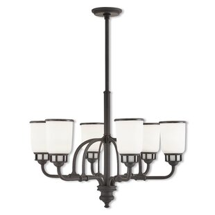 17 Stories Laurenza 6-Light Shaded Chandelier