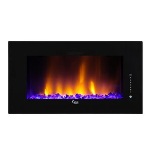 Caesar Luxury Wall Mount Electric Fireplace by Caesar Fireplace