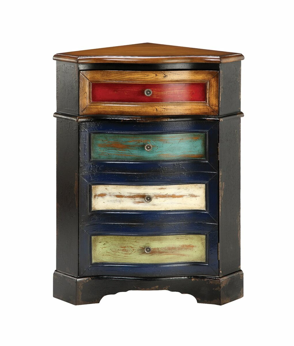 corner chest of drawers
