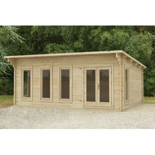 Vickery 20 X 15 Ft. Tongue & Groove Log Cabin By Sol 72 Outdoor