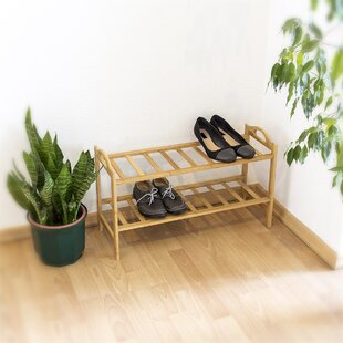 2 Compartment Shoe Rack By Brambly Cottage