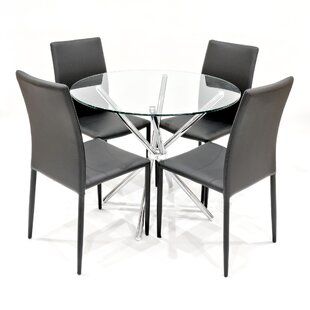 Newtowne Dining Set With 4 Chairs By Metro Lane