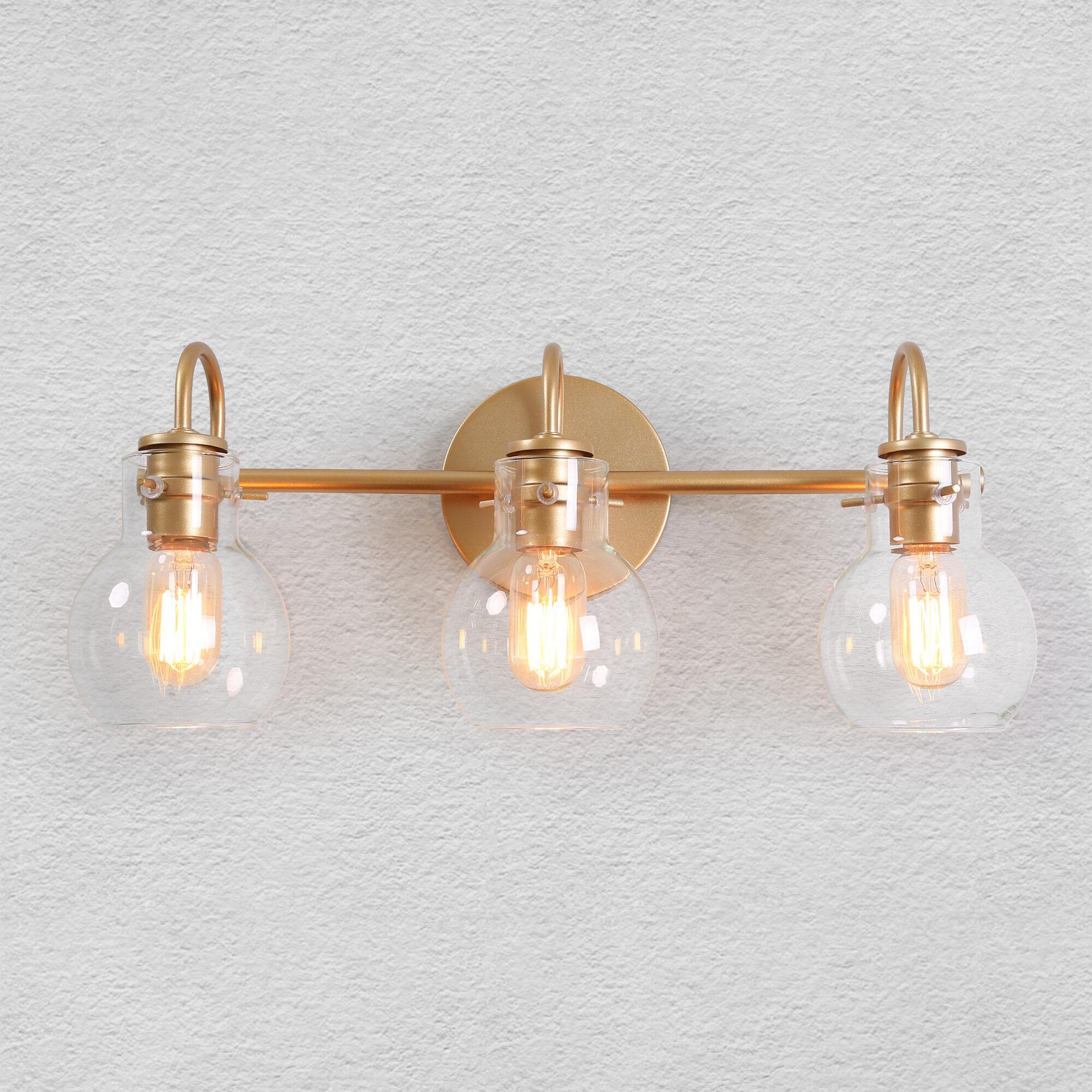 Mercer41 Aikens 3 Light Vanity Light Reviews Wayfair