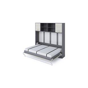 Batres European Double (140 X 200cm) Murphy Bed By Ebern Designs