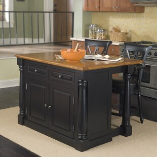 Gironde 3 Piece Kitchen Island Set by Laurel Foundry Modern Farmhouse