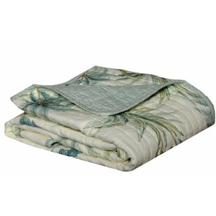 Serenity Palms Cotton Blanket or Throw