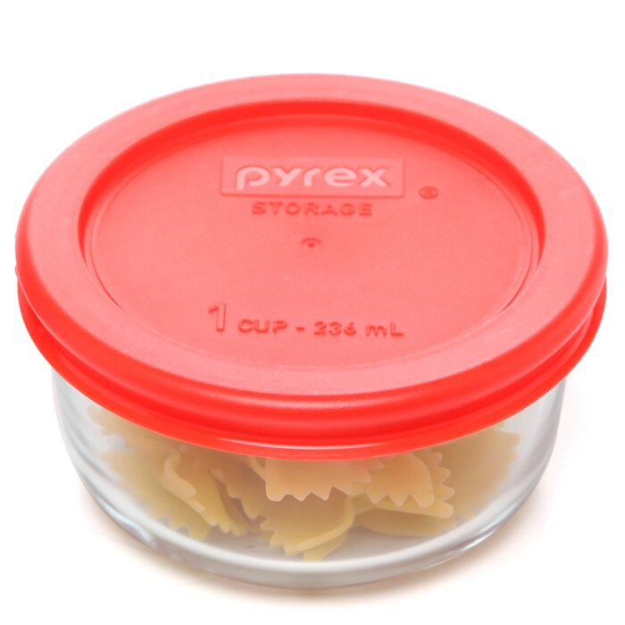 Pyrex 1 Cup Food Storage Container Reviews Wayfairca
