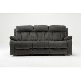 Reclining Microfiber Sofa Wayfair Ca