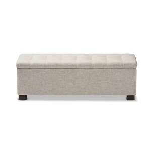 Bodiam Upholstered Storage Bench By Rosalind Wheeler