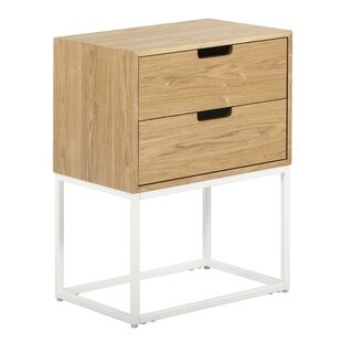 Camden 2 Drawer End Table with Storage