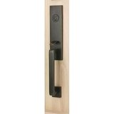 Davos Handleset with Single Cylinder Deadbolt and Door Knob/Lever and Rosette