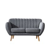 Villalba Sophisticated and Stylish 57.9 Flared Arms Loveseat by George Oliver