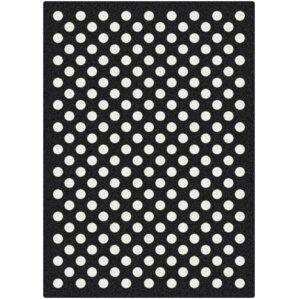 Polka Dots Area Rugs Youll Love Wayfair - Black and white polka dot bathroom rugs for bathroom decorating ideas