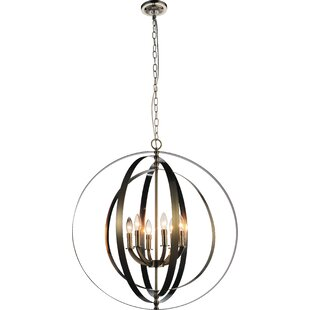 Breakwater Bay Estrella 6-Light Candle-Style Chandelier