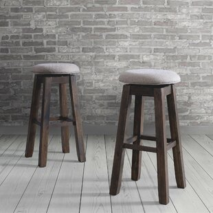 Compare Ismay Backless 30 Swivel Bar Stool (Set of 2) by Three Posts Reviews (2019) & Buyer's Guide