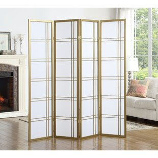 Ebern Designs Lana 4 Panel Room Divider