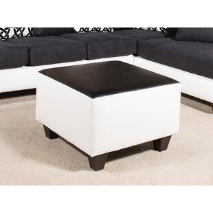 Gorgias Cube Ottoman by Ebern Designs