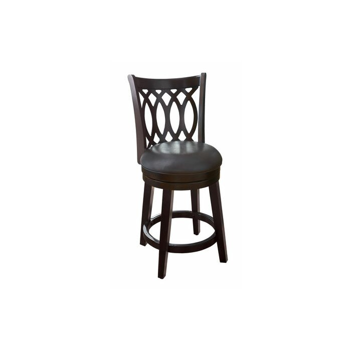 Phenomenal 24 Swivel Bar Stool With Cushion Onthecornerstone Fun Painted Chair Ideas Images Onthecornerstoneorg