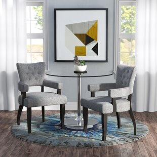 Check Prices Sundee Upholstered Dining Chair (Set of 2) by Brayden Studio Reviews (2019) & Buyer's Guide